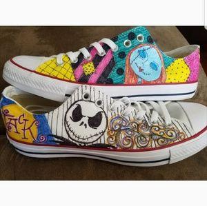 Custom Painted Chucks